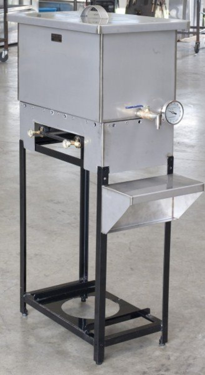 Two Burner Propane Cooker for Maple Syrup or other outdoor cooking