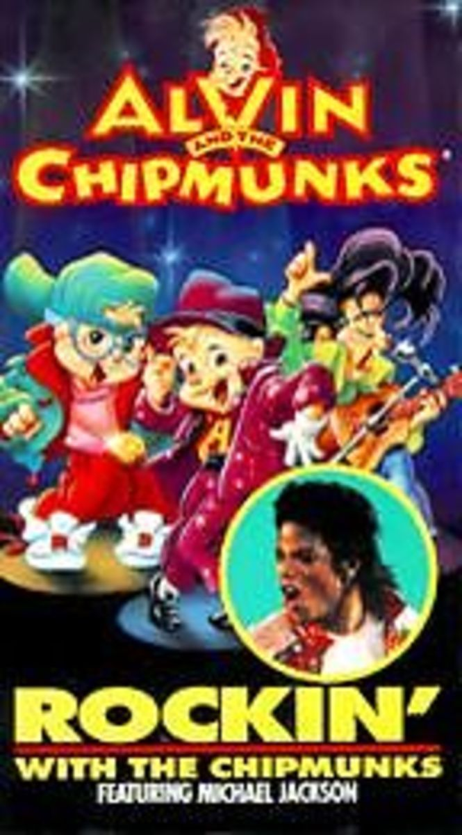 Rockin' With The Chipmunks (Featuring Michael Jackson) (VHS)