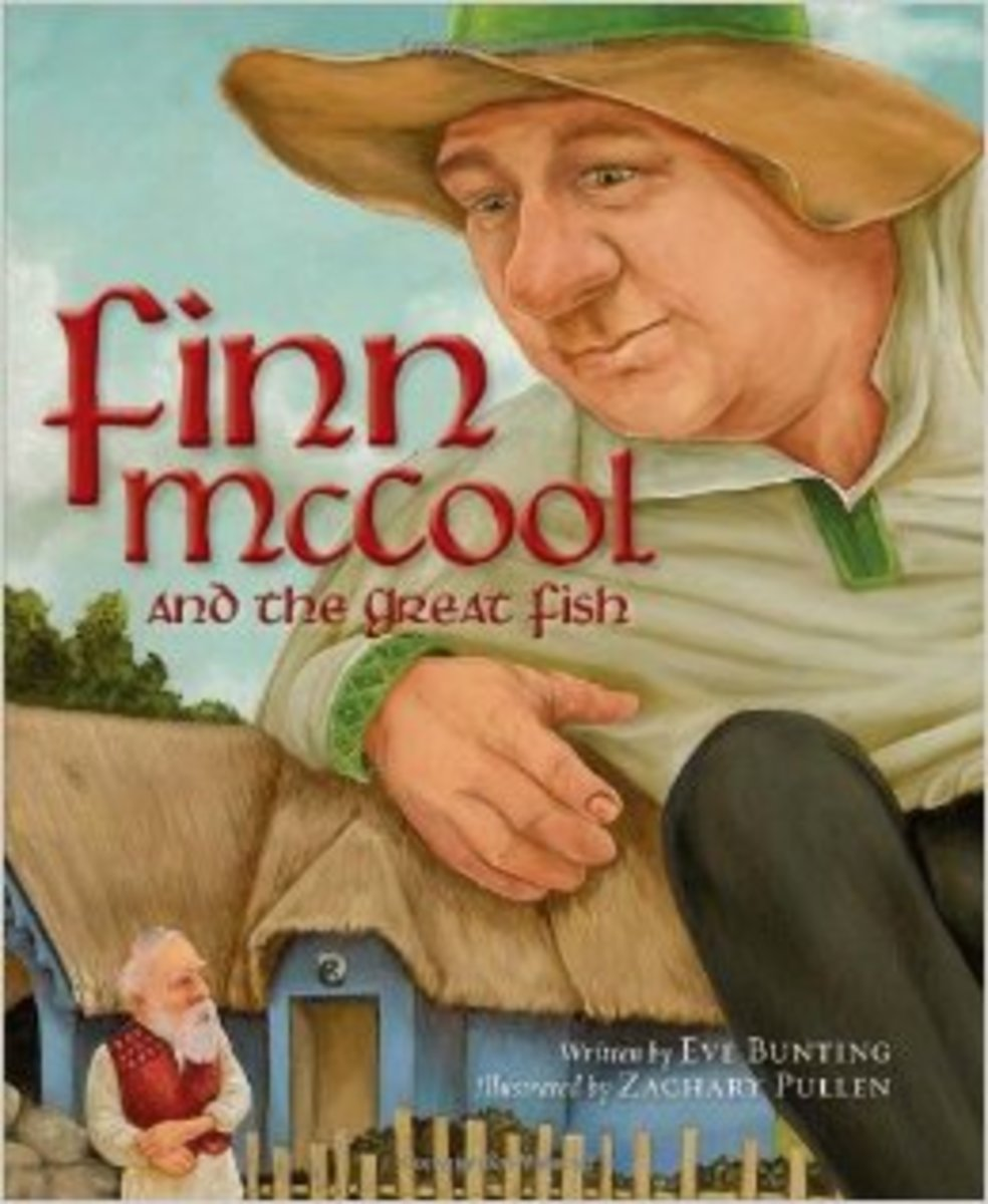 Finn McCool and the Great Fish (Myths, Legends, Fairy and Folktales) by Eve Bunting