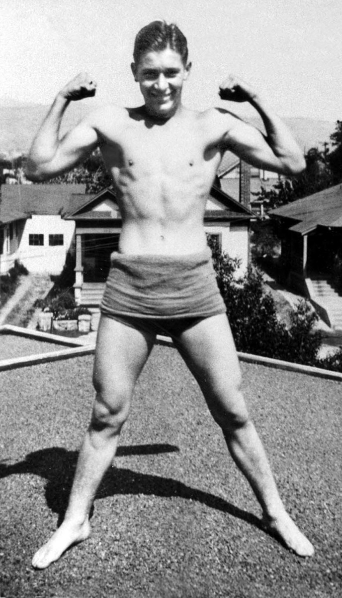 Jack LaLanne as young man
