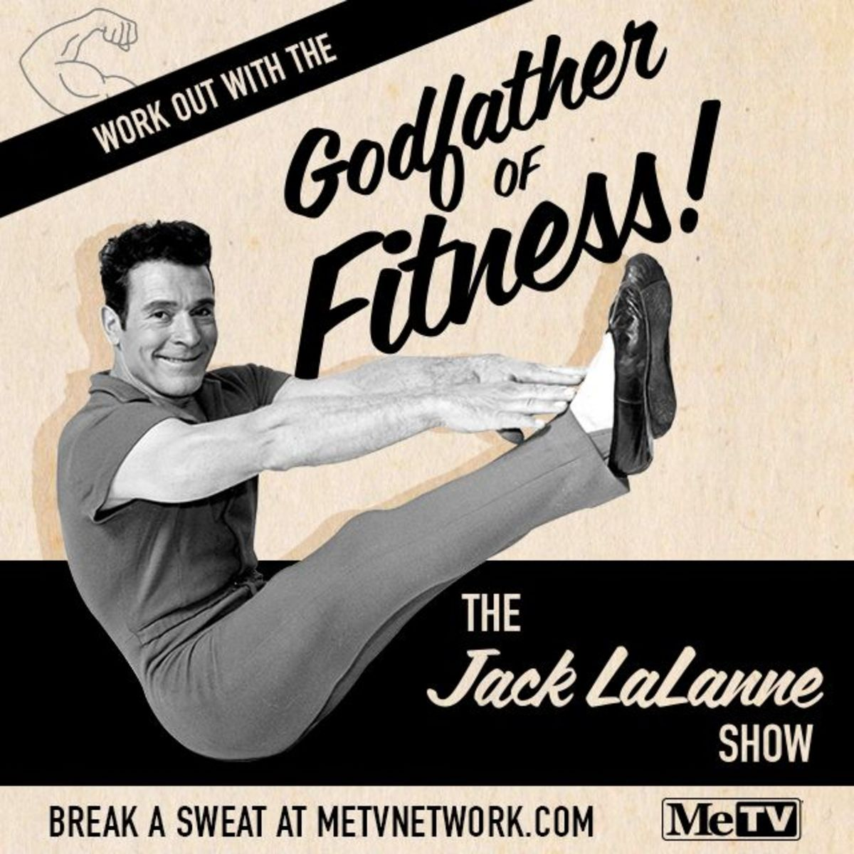 Poster for Jack LaLanne show