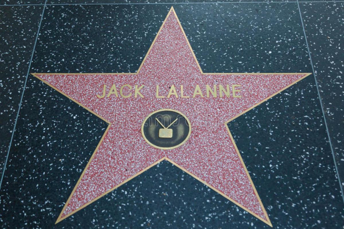 Jack LaLanne's star on Hollywood Walk of Fame