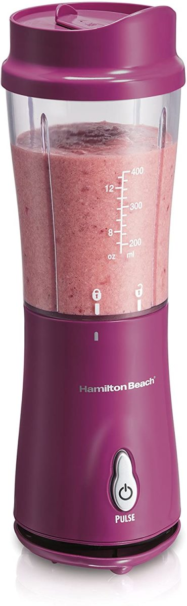 The Hamilton Beach Personal Blender for Shakes and Smoothies
