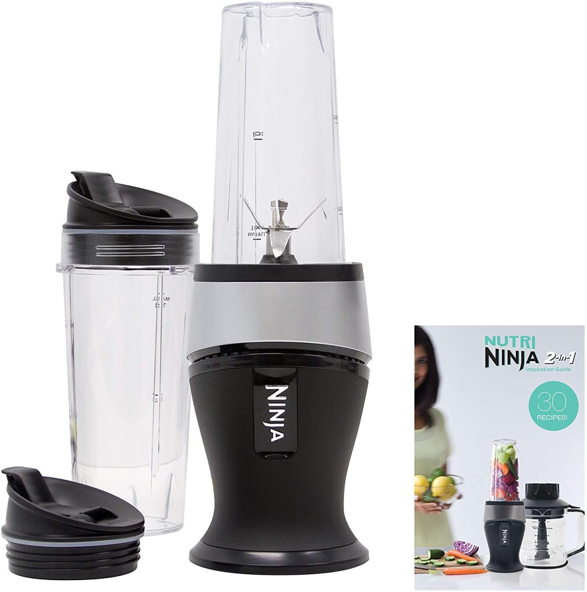 The Ninja Personal Blender for Shakes, Smoothies, Food Prep, and Frozen Blending
