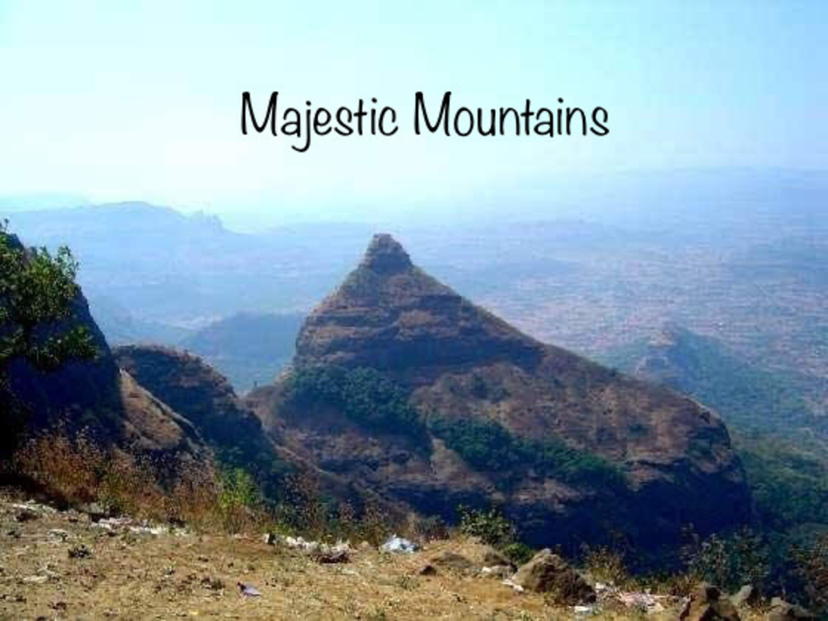 Majestic Mountains—Poem