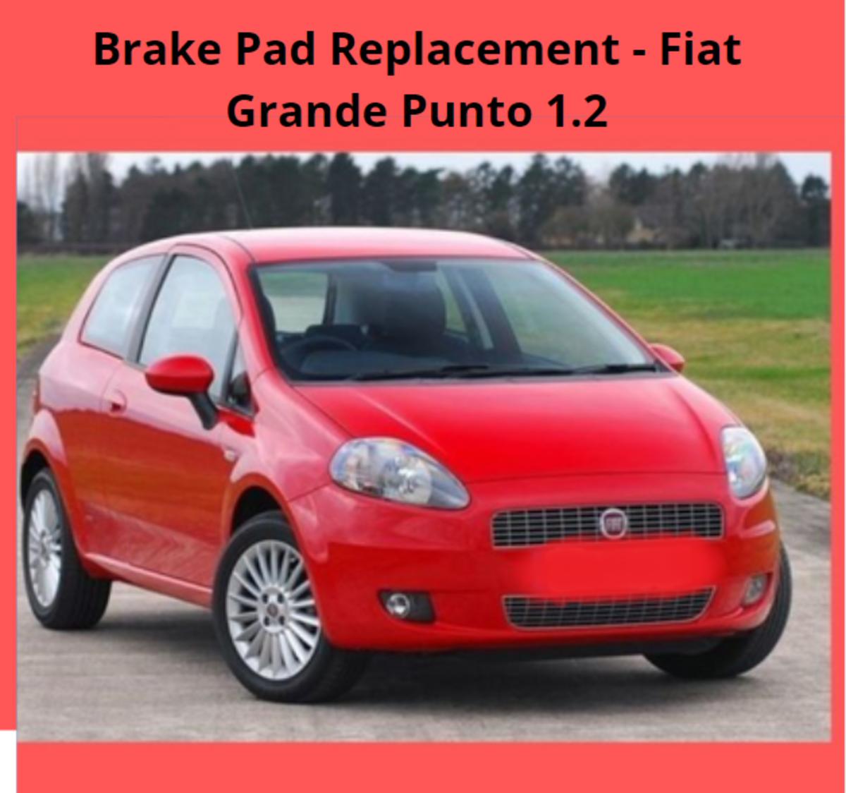 Brake Pad Replacement - Fiat Grande Punto 1.2 2006 - 2009