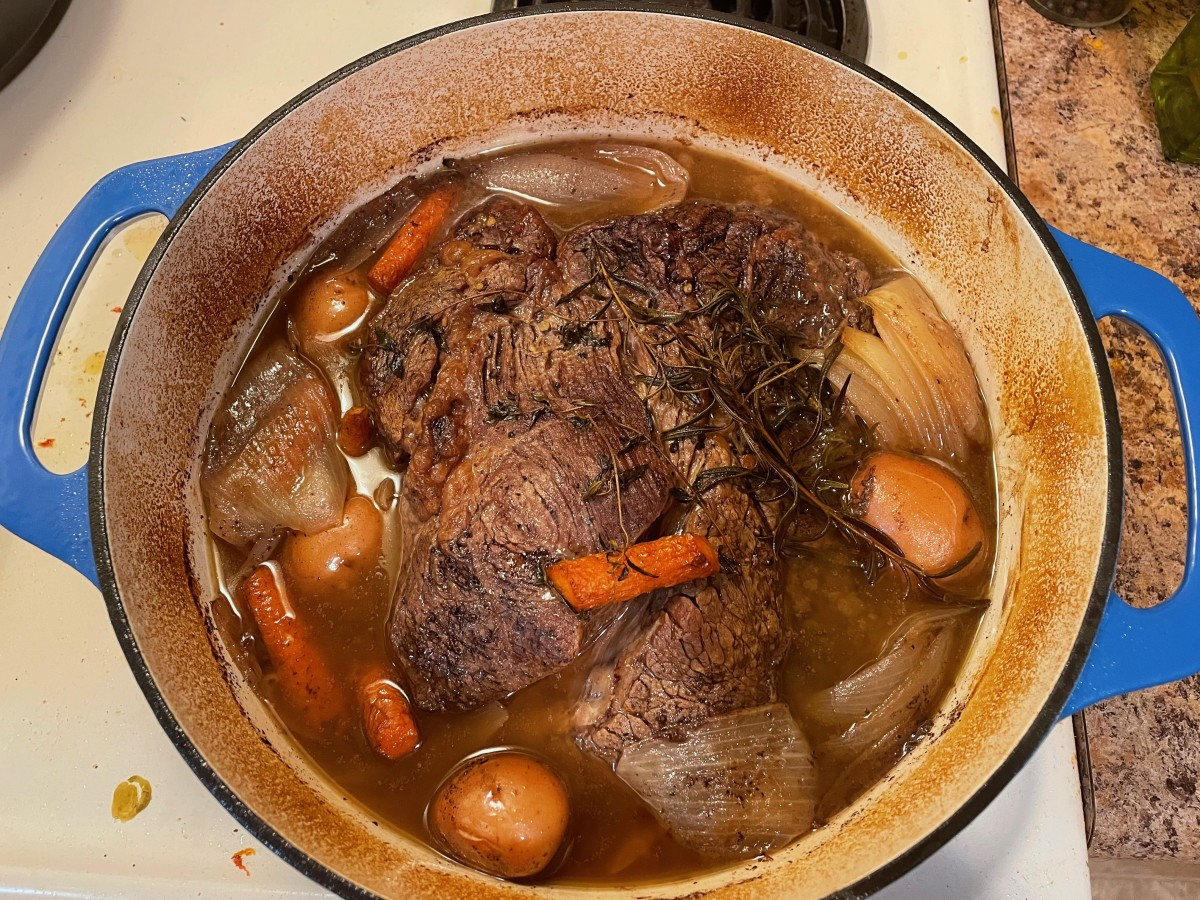Perfect Pot Roast for Two