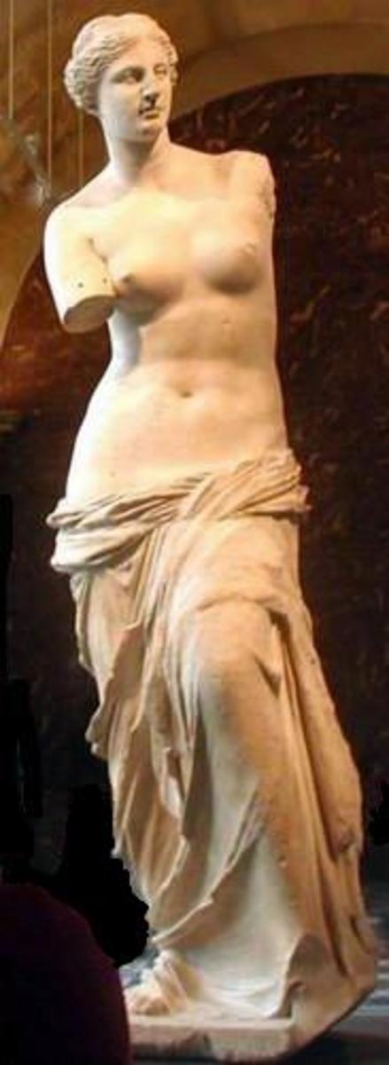 Aphrodite from the island of Melos 'Venus de Milo'