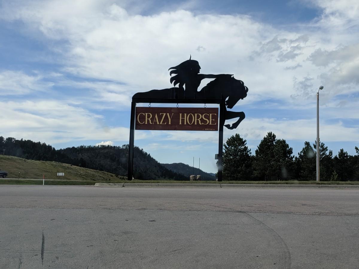 Entrance to Crazy Horse Memorial