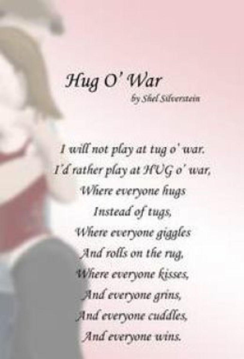 """Shel Silverstein """"Hug O War"""""""