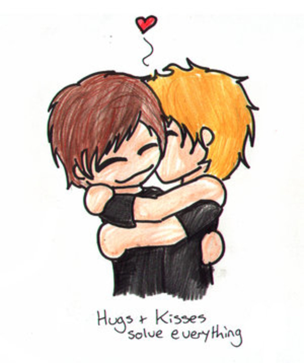 Hugs and Kisses really can solve everything!