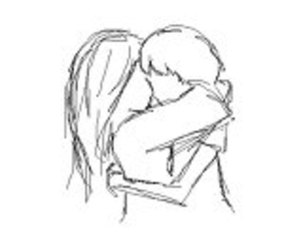 A Hug and a Kiss