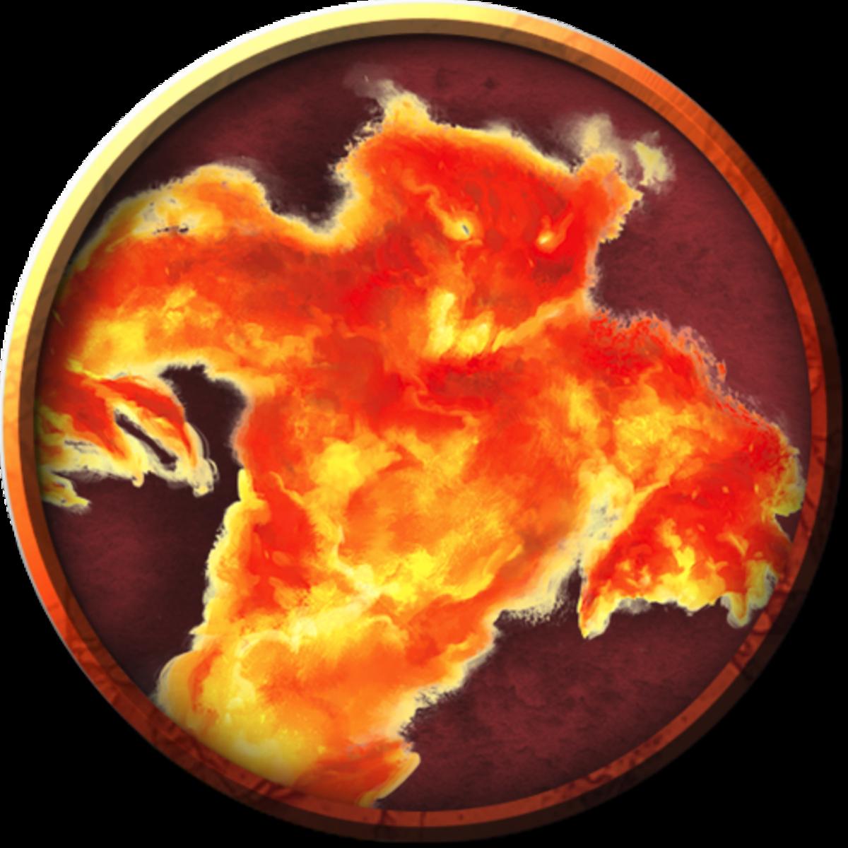 Maegera the Dawn Titan D&D
