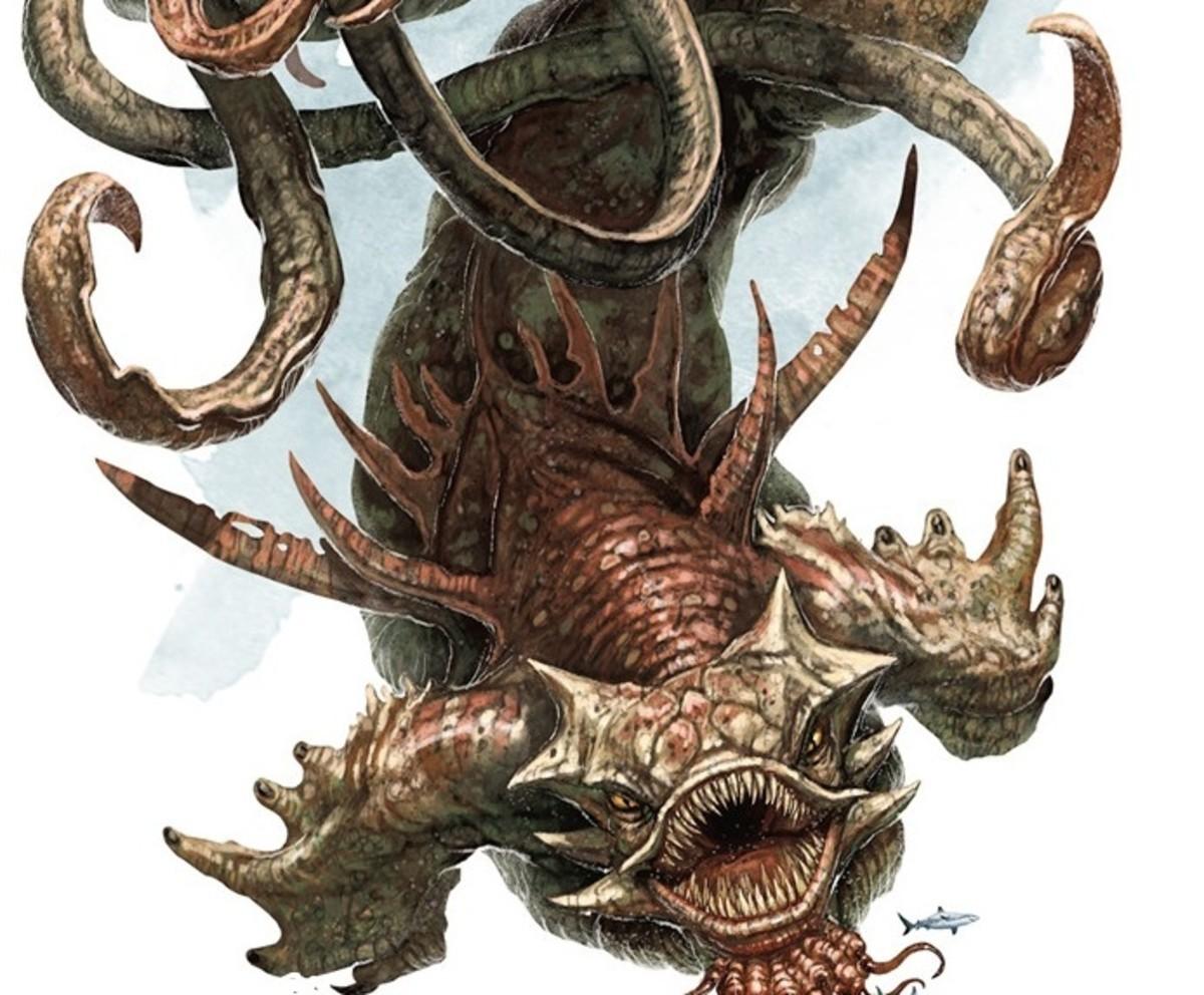 Kraken D&D