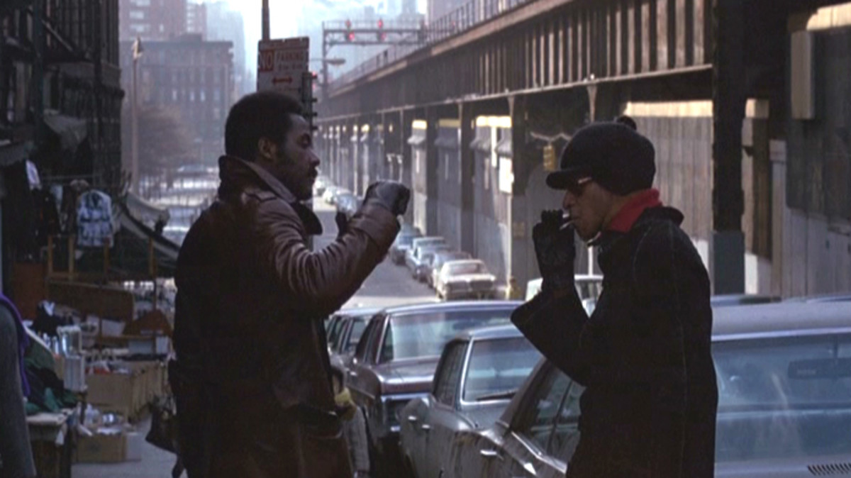 The film's gritty realism and Roundtree's (left) performance elevate this standard cop drama into something iconic.