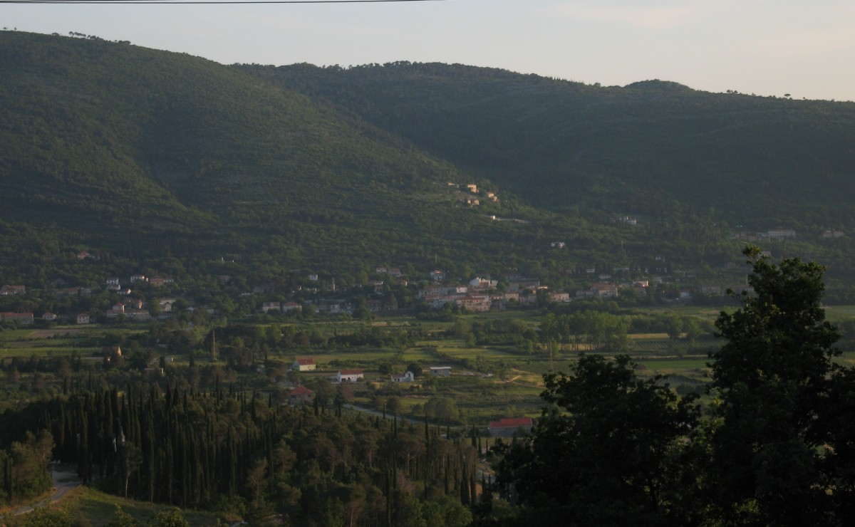 A view overlooking the valley from my home