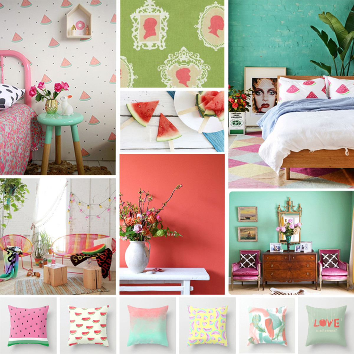 But you already know that, right? Watermelon is color so good! Color objects watermelon pink from other color palettes.