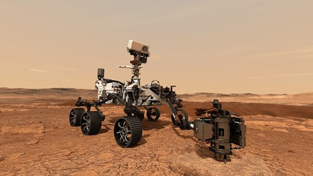 NASA's Perseverance Rover landed on Mars in February 2021. It has a sticker price of $2.7 billion.