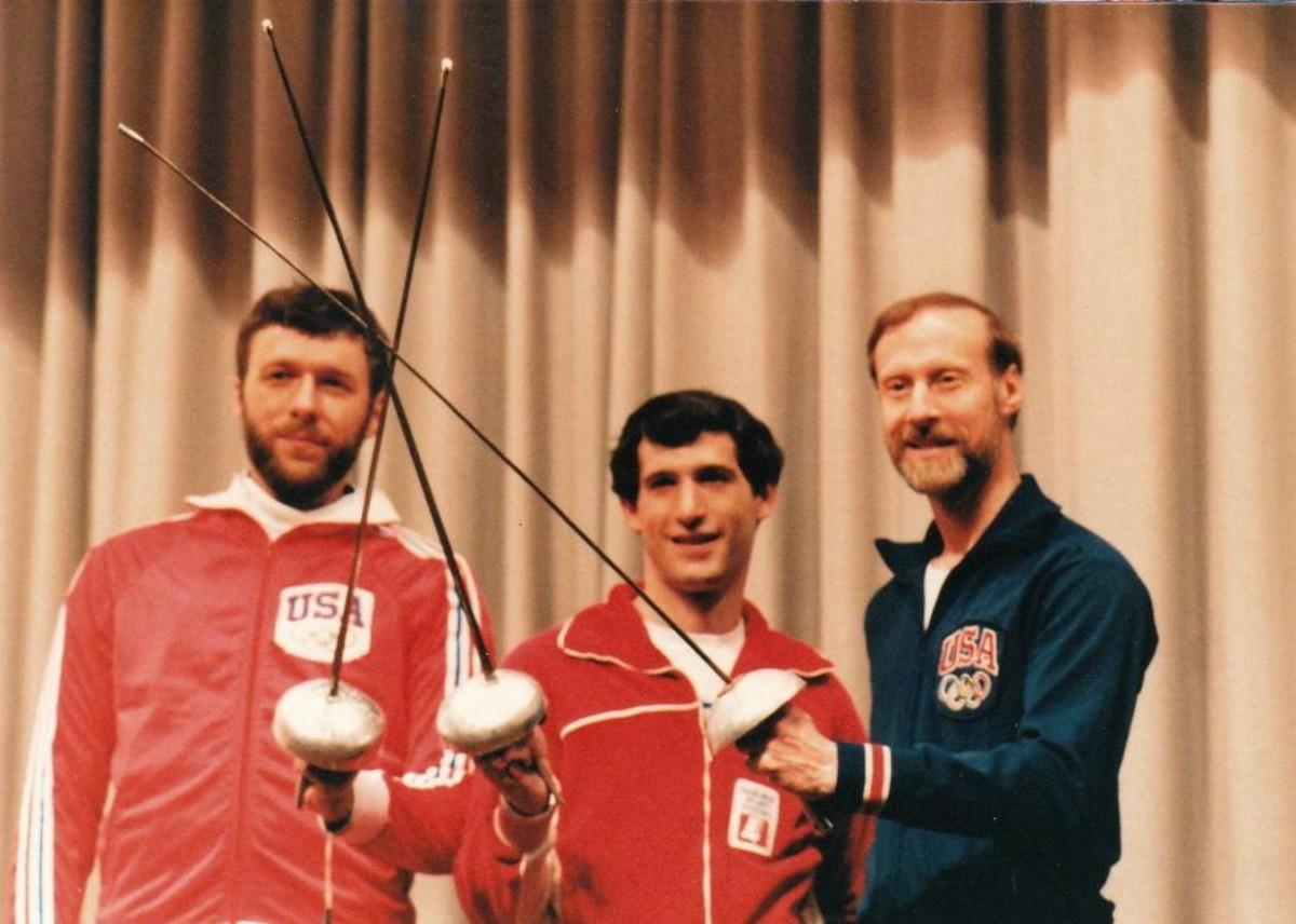 Masin (left), Siegel (center), Melcher (right)