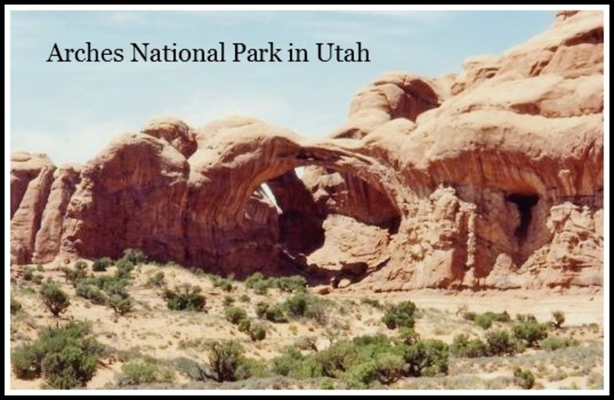 Arches National Park in Utah - Natural Landscape Wonder near Moab