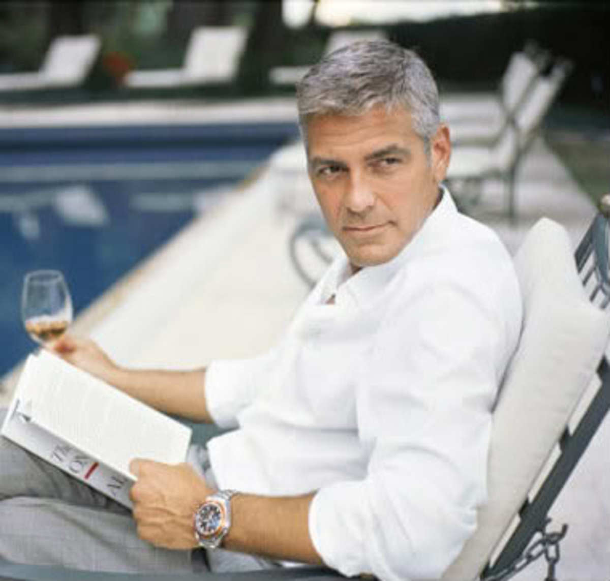 George Clooney in a trend of movie stars making adverts now.
