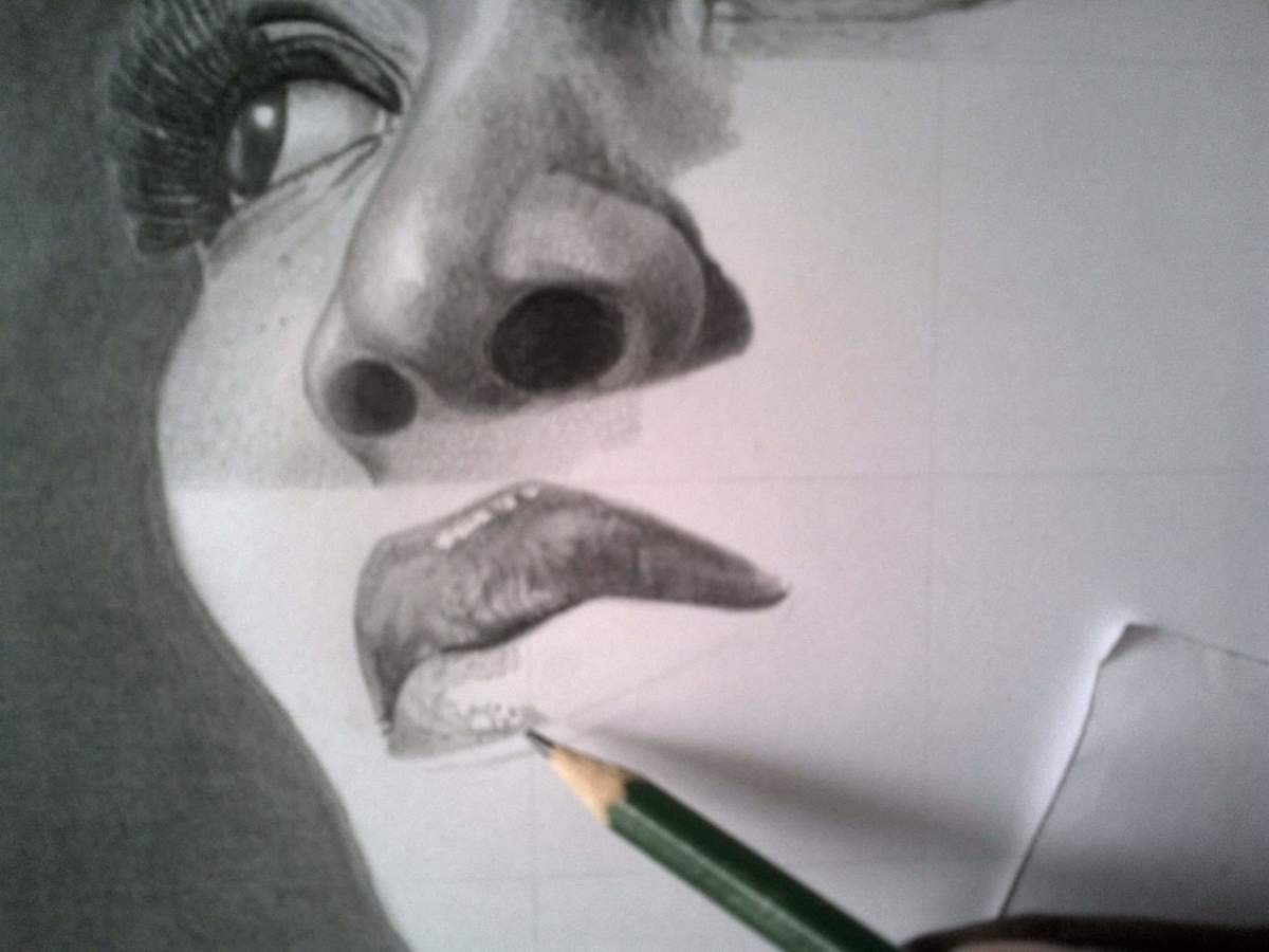 evolution-stages-of-my-genevieve-nnaji-realistc-drawing