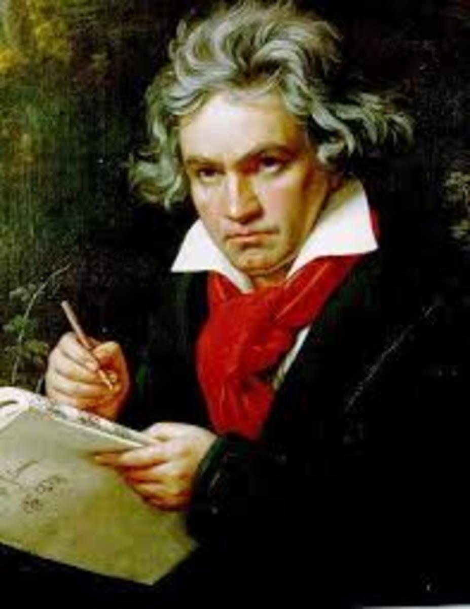 Ludwig van Beethoven, Composer, born in Bonn, Germany, on December 16, 1770.  Lived in Vienna from 1792 to his death in 1827.