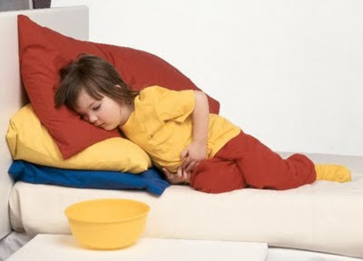 stomach worms in children