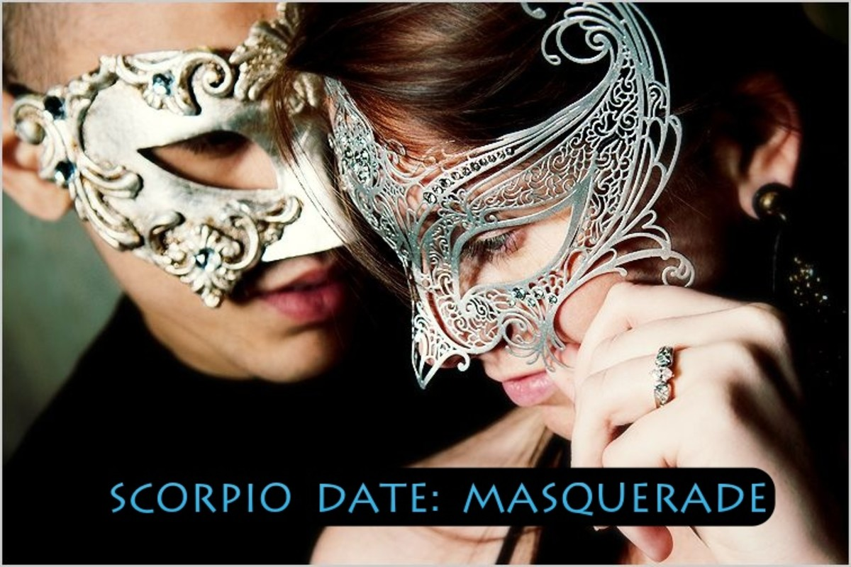 Scorpios are born close to the date of Halloween, some born exactly on October 31. This sign loves a good masquerade. They like the seriousness, the elegance, the  raw attraction. It's the perfect time for a costume. Masks speak to their hearts.