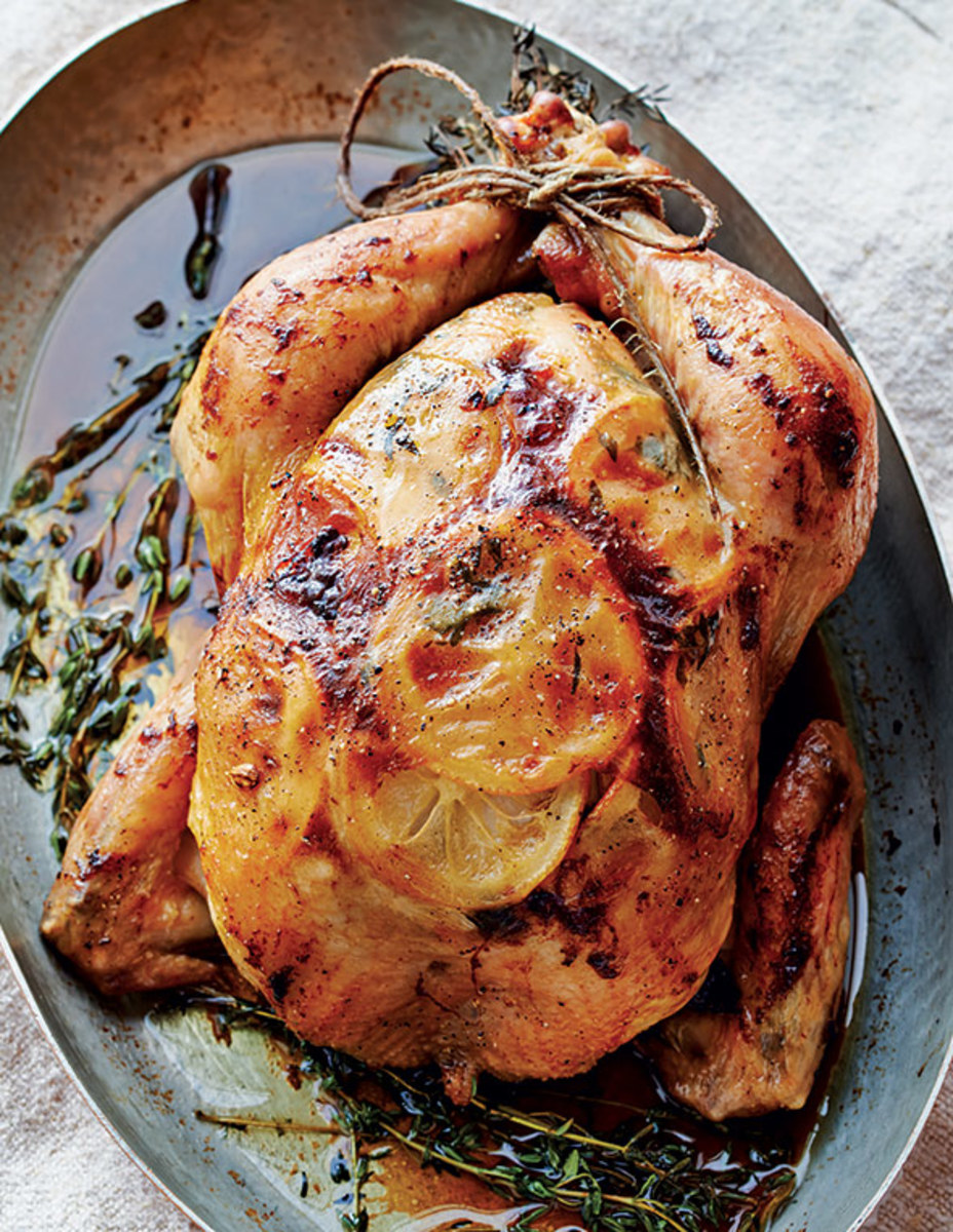 Roasted Lemon Thyme Chicken (Photo by Peden + Munk)