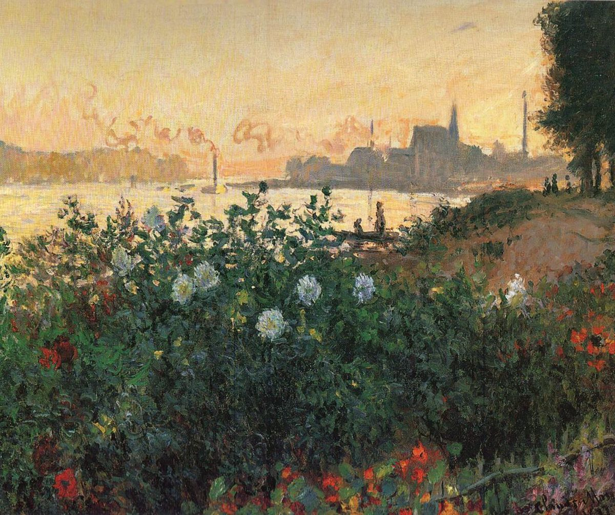 Flowered Riverbank, Argenteuil
