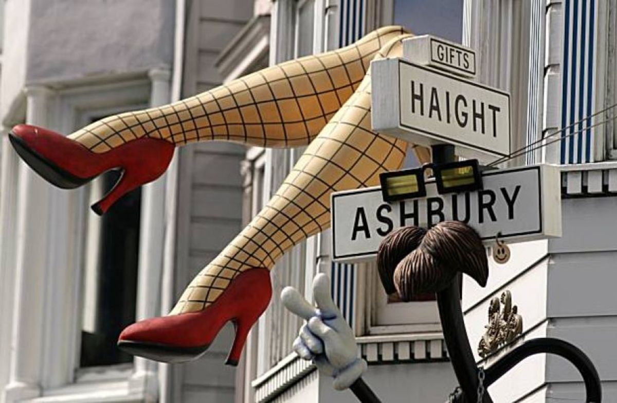The Haight is a must-visit neighborhood when in San Francisco.