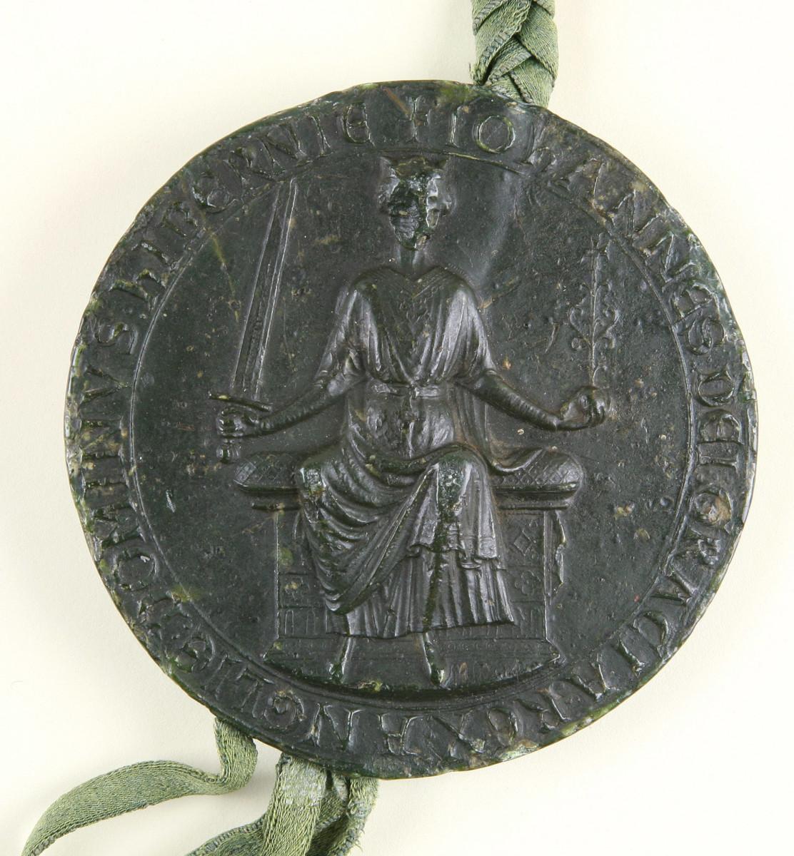King John's Seal on Magna Carter 1215