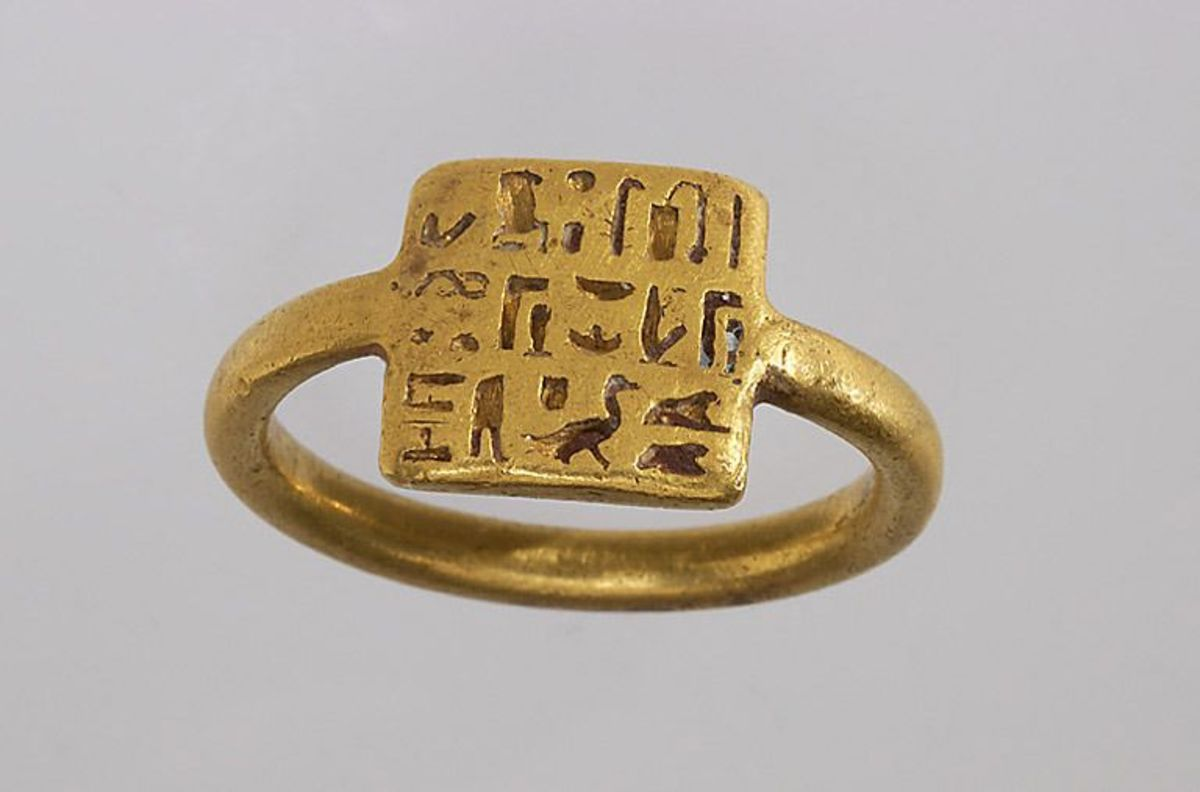 Ancient Egyptian Ring