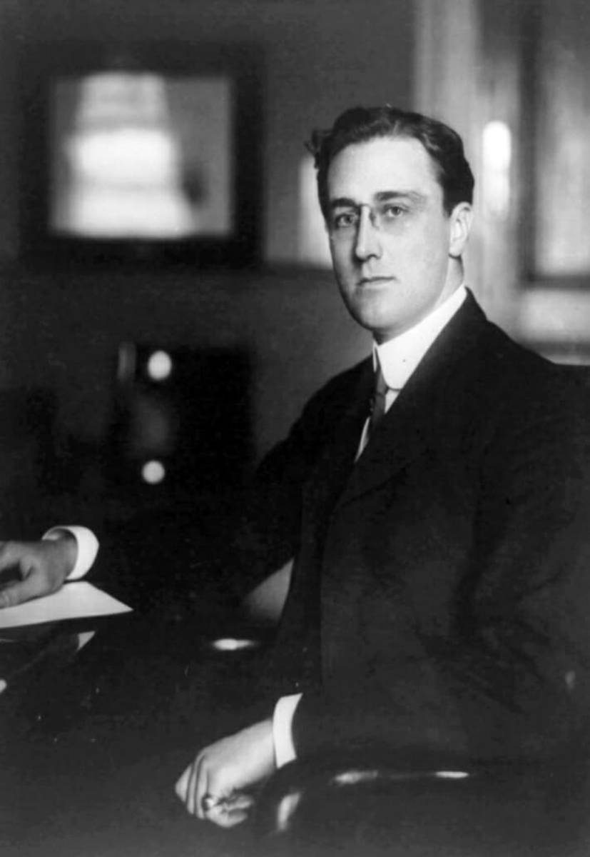 Pres. FDR with Stacked Signet Ring