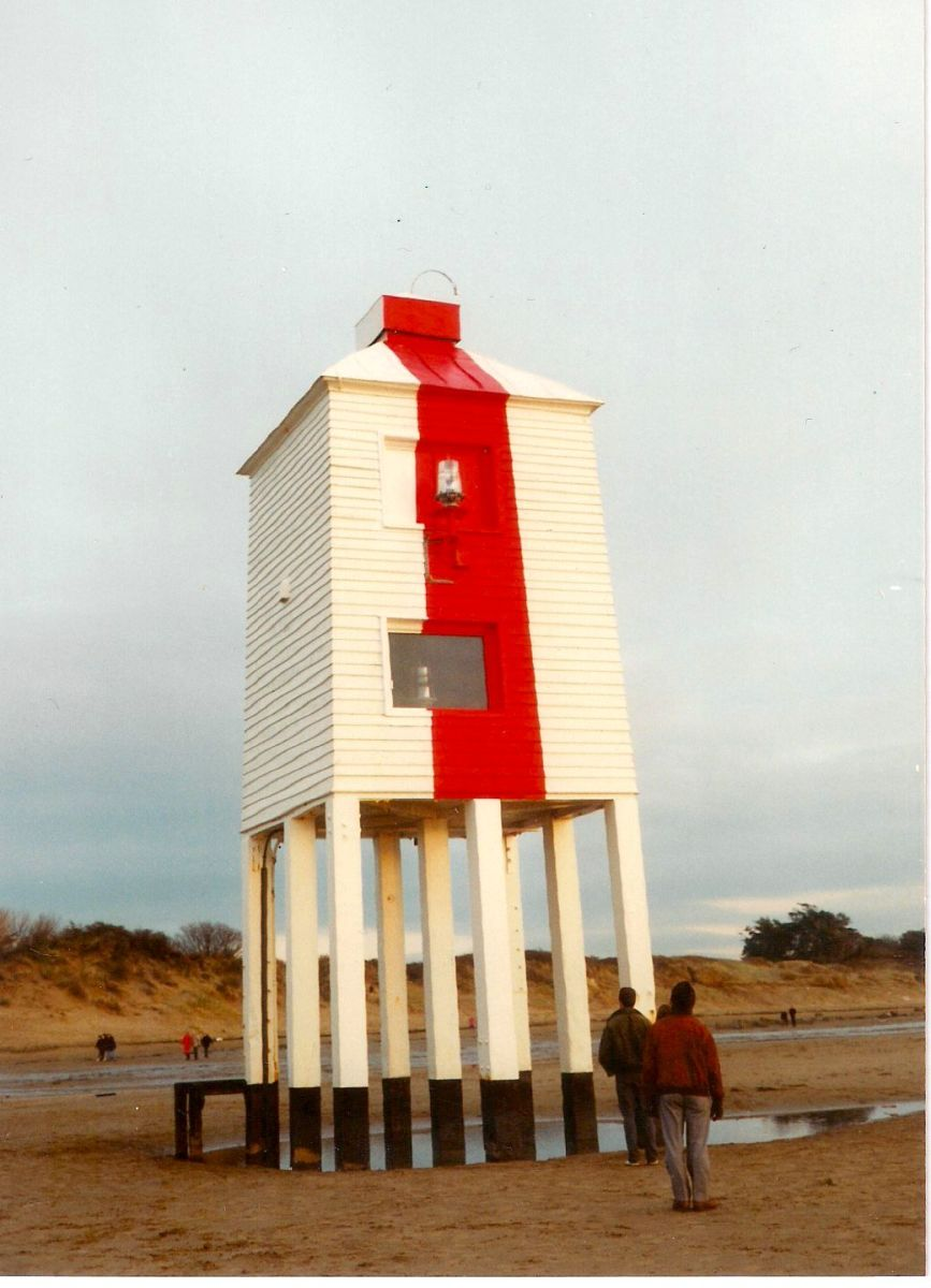 The Low Lighthouse on the Beach