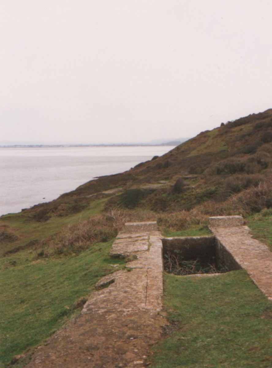 Old foundations of the Fort
