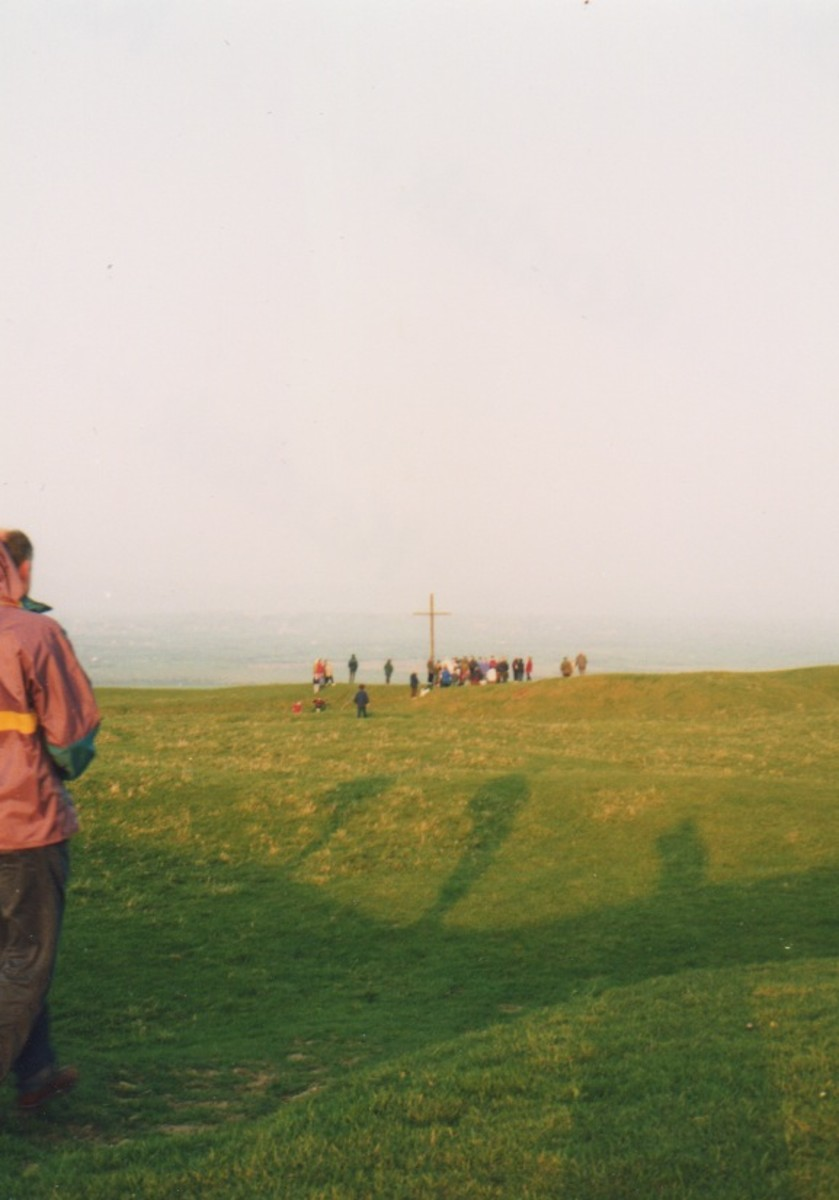 Easter on Brent Knoll