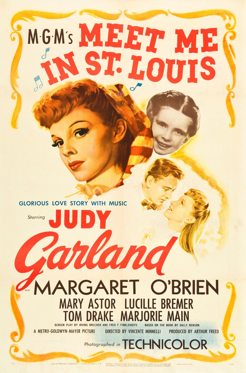 Meet Me in St. Louis with the main cast, Judy Garland