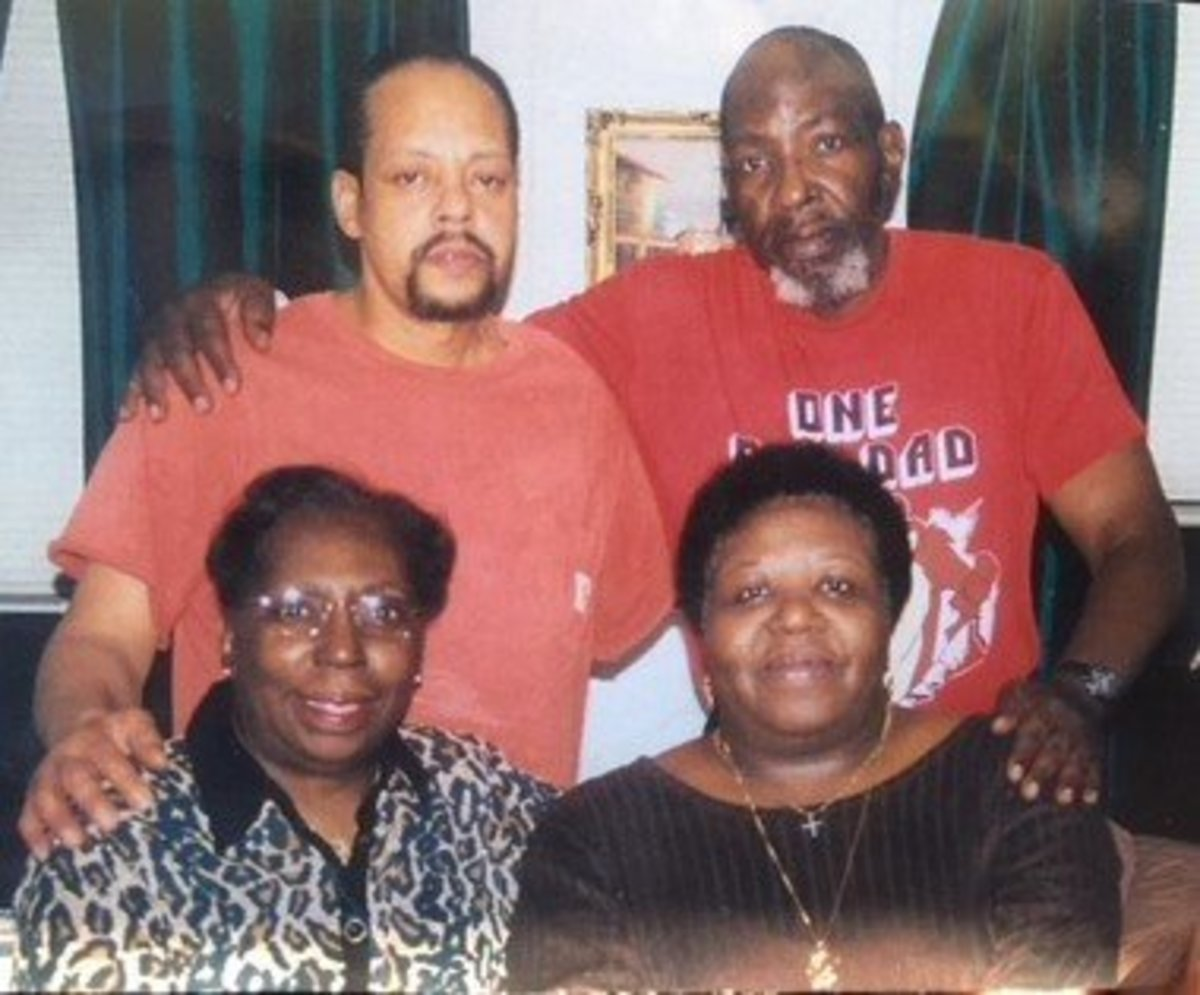 The McBride Siblings: Herman, Leroy, Aunt Dot, and Ma