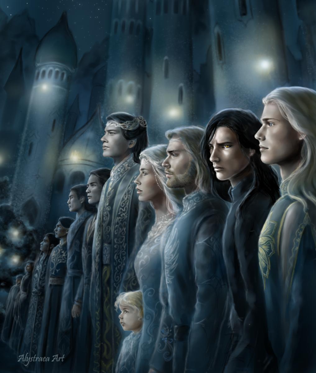 Tarnin Austa,Gondolin by alystraea
