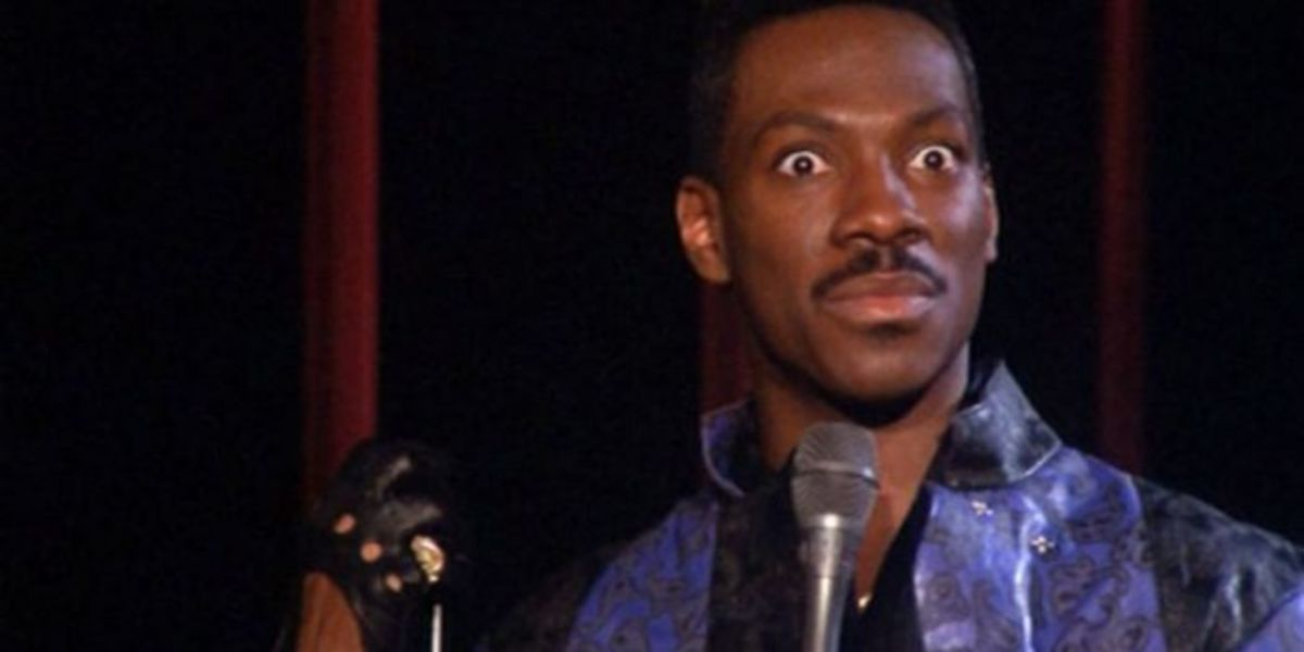 Just one look from Eddie Murphy can make me laugh.