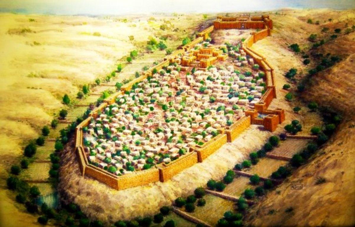 CITY OF DAVID MODEL
