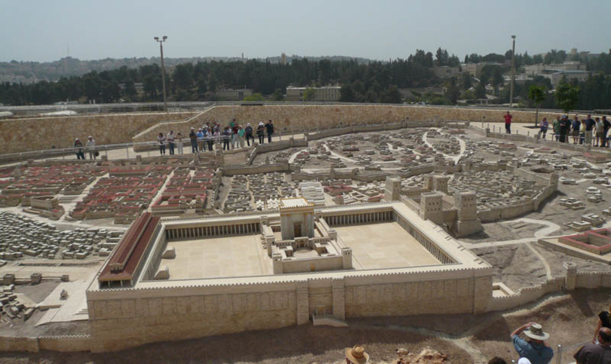 MODEL OF JERUSALEM IN YESHUA'S TIMES