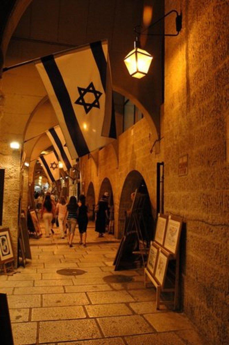 JEWISH QUARTER IN JERUSALEM
