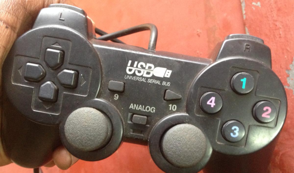 A gamepad