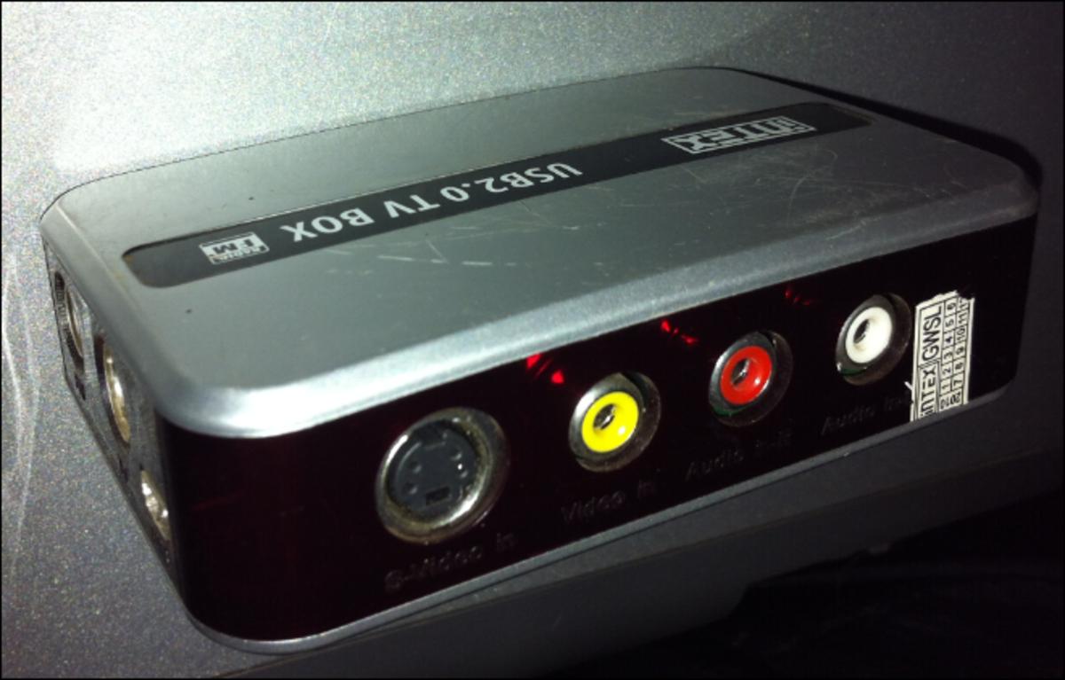 A TV capture box