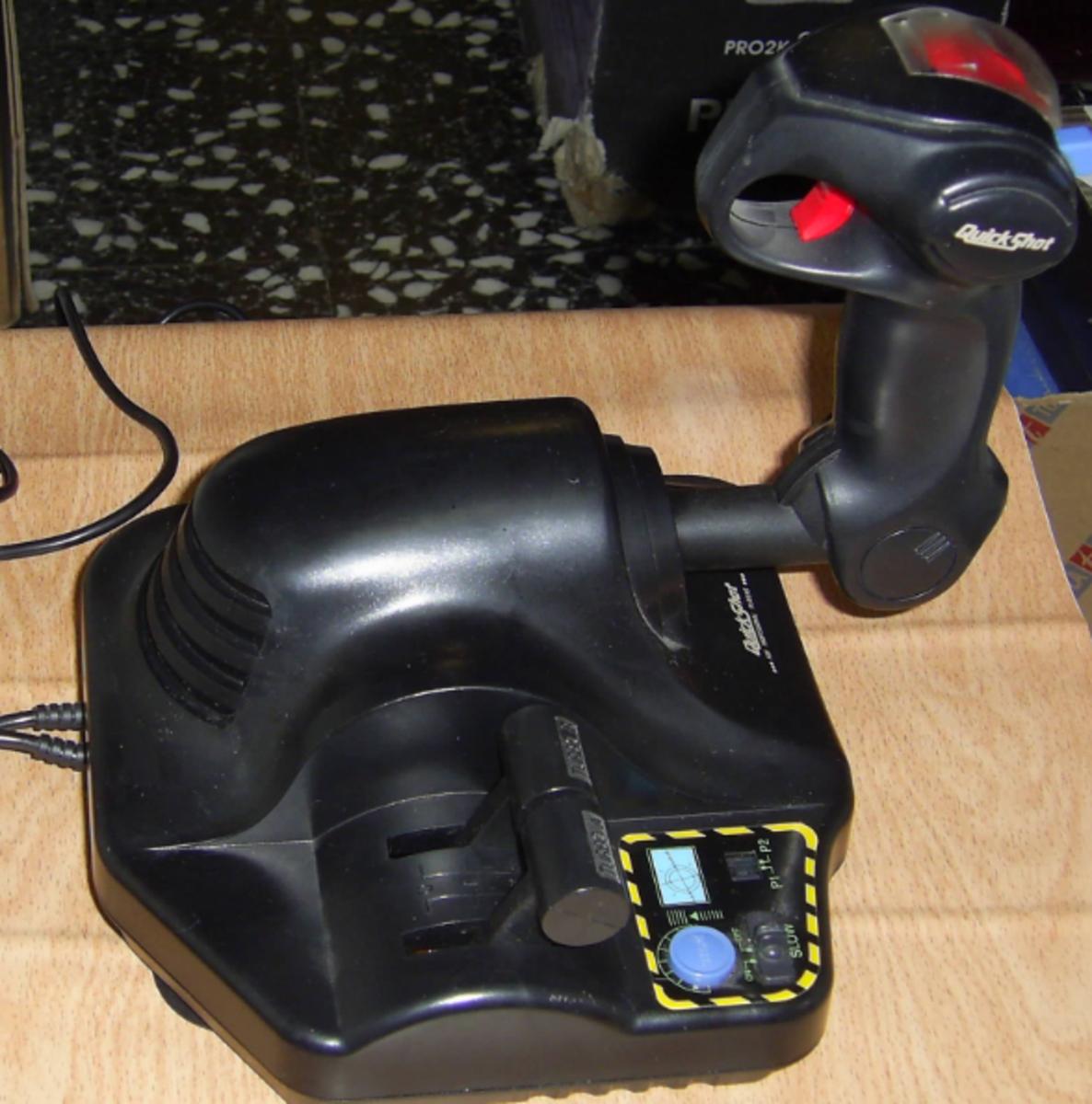 A quickshot joystick