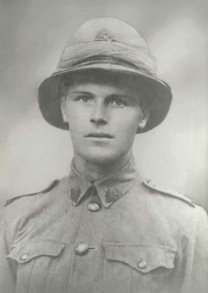 Background Information about my great grandfather - Reginald Trevor - a soldier in World War 1