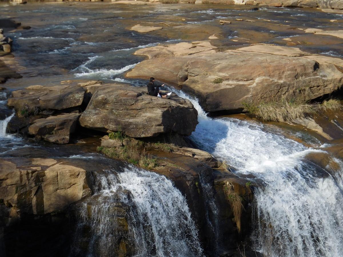 Reedy Falls in Greenville, SC